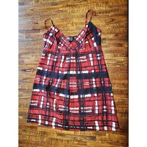 New York & Company Plaid holiday Dress